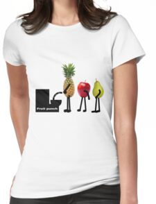 Fruit punch Womens Fitted T-Shirt