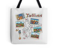 Color Travel book Tallinn, Estonia Tote Bag
