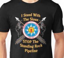 Standing Rock Crossed Arrows - Stop The Pipeline Unisex T-Shirt