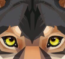 Wolf Portrait Sticker