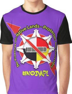 No Pipeline On Native Lands  Graphic T-Shirt