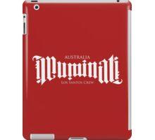 Combined Crew Ambigram - DARK iPad Case/Skin