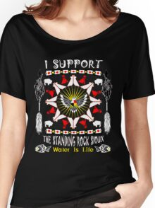 Support Standing Rock  Women's Relaxed Fit T-Shirt