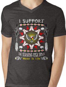 Support Standing Rock  Mens V-Neck T-Shirt