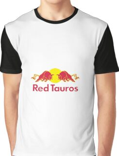 Red Tauros Graphic T-Shirt