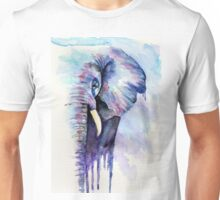 Striking Elephant Portrait Unisex T-Shirt