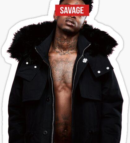21 Savage - Savage Sticker