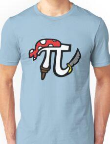 Pi Pirate Unisex T-Shirt