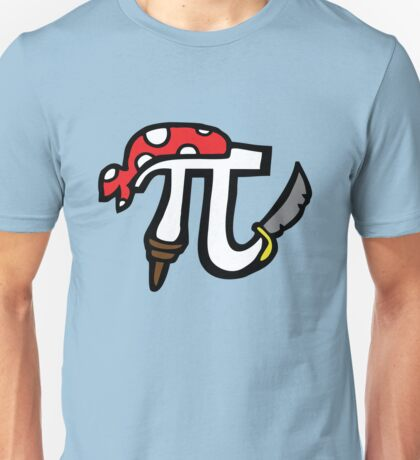 Pi Pirate Unisex T-Shirt