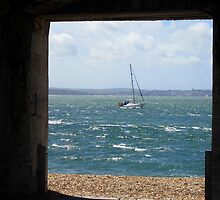 A view from Southsea Castle  by Caroline Anderson