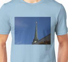 London Temple Spire Unisex T-Shirt