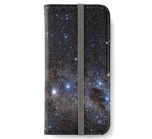 Star Wars VII. BB8 siluette in the space iPhone Wallet/Case/Skin
