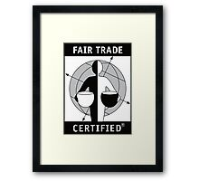 ben and jerry Framed Print