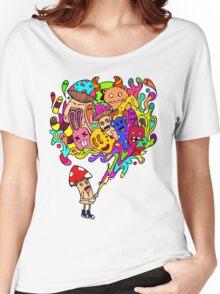 Mushroom Jizz Women's Relaxed Fit T-Shirt