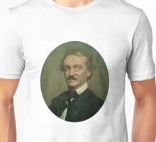 Retrato de Edgar Allan Poe Unisex T-Shirt