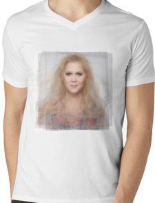 Amy Schumer Portrait Mens V-Neck T-Shirt