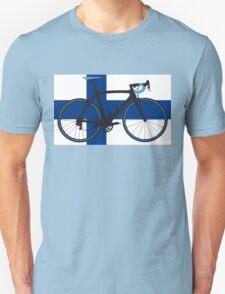 Bike Flag Finland (Big - Highlight) T-Shirt
