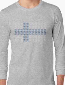 Bike Flag Finland (Small) Long Sleeve T-Shirt