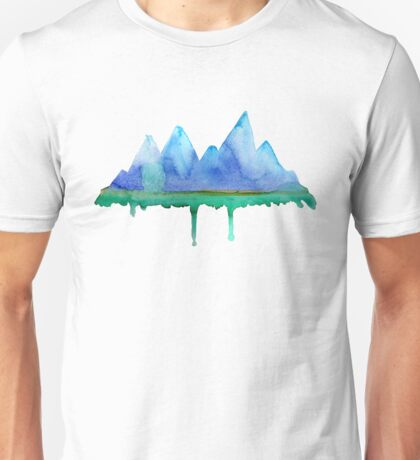 Watercolor Outdoorsy Unisex T-Shirt