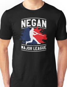 Negan Major League Baseball Lucille Walking Dead Unisex T-Shirt