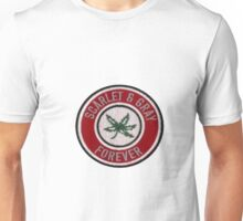 Ohio State Scarlet & Gray Forever Patch  Unisex T-Shirt