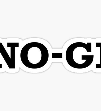 No-Gi Grappling Sticker