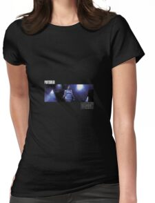 dummy Womens Fitted T-Shirt