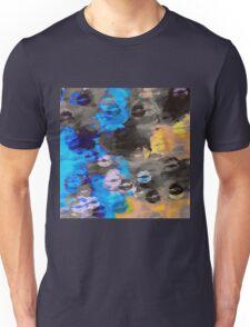 black blue and orange kisses Unisex T-Shirt