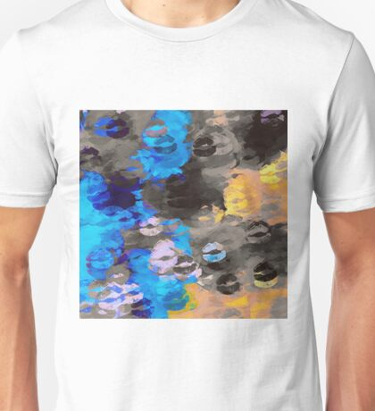 black blue and orange kisses Unisex T-Shirt