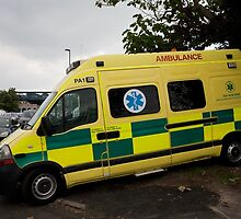 Paramedico Ltd Emergency Ambulance At 46th Southampton Boat Show 2014 by Keith Larby