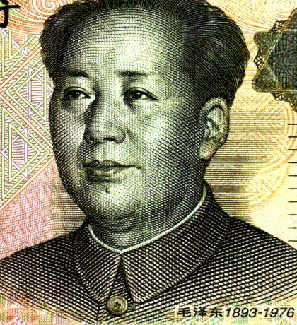 Mao Zedong (Renminbi) Sticker