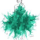 Christmas Tree Dress by mekel