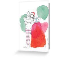 Christmas Love Mekel Greeting Card