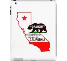 calexit  iPad Case/Skin