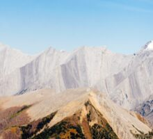 Rocky Mountains Sticker