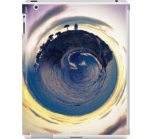 ocean view in summer with cloudy sunset sky iPad Case/Skin
