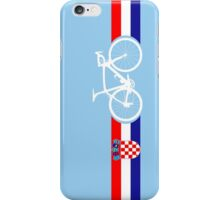 Bike Stripes Croatia iPhone Case/Skin