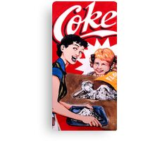 Coke Canvas Print