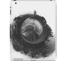 tree and bridge in the forest iPad Case/Skin
