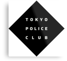 Tokyo Police Club (Champ) Metal Print