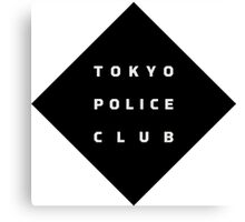 Tokyo Police Club (Champ) Canvas Print