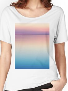 Color Layers Sunrise Sea Women's Relaxed Fit T-Shirt