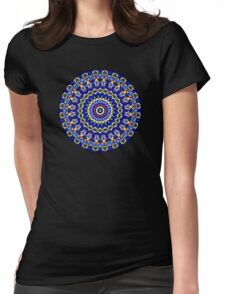 Happi Mandala 8 Womens Fitted T-Shirt