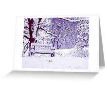 Snow Scenes of Winter Greeting Card