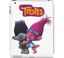 trolls poppy and branch iPad Case/Skin