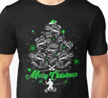 xmas fishing shirt Unisex T-Shirt