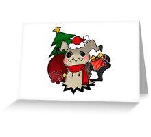 Mimikyo christmas gift Greeting Card