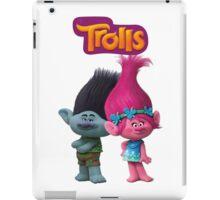 trolls branch and poppy iPad Case/Skin