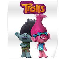trolls branch and poppy Poster