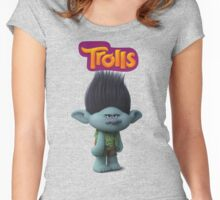 branch troll Women's Fitted Scoop T-Shirt